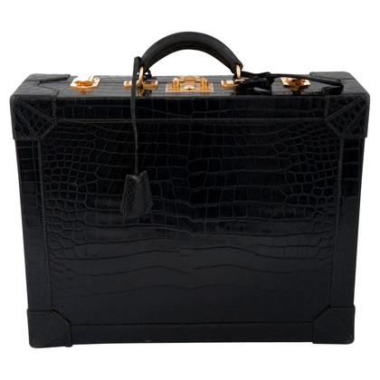 Hermès Aktentasche aus Krokodilleder