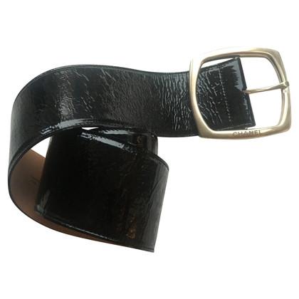 Chanel cintura di vernice Chanel