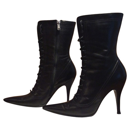Dolce & Gabbana Stuffed Ankle Boots