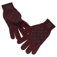 Louis Vuitton Gloves with Damier pattern