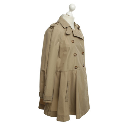 Red Valentino Trench coat with flared seam