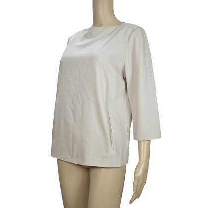 Max Mara Wollen blouse nude