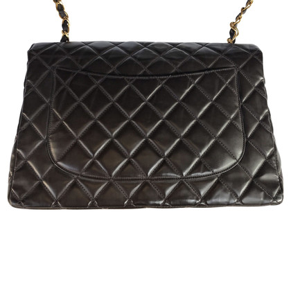 Chanel Timeless jumbo marrone metalli dorati