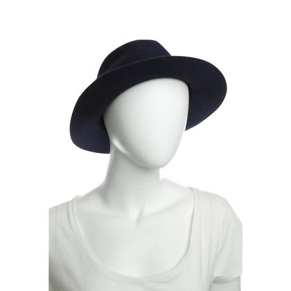 A.P.C. Wool Hat in Midnight Blue