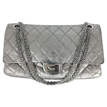 Chanel Chanel 2.55 XL Silver SHW