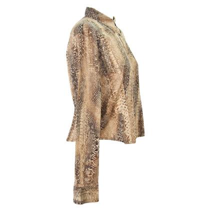 Ralph Lauren Blouse with snake pattern