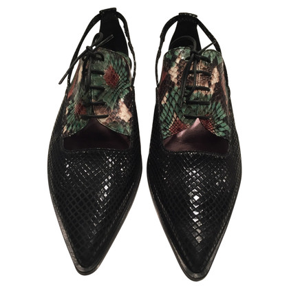 Dorothee Schumacher Lace-up shoes with cut outs