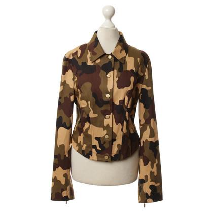 Patrizia Pepe Camouflage-Jacke