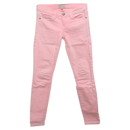 Current Elliott Jeans in neon rosa