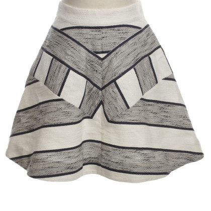 Phillip Lim skirt with stripe pattern
