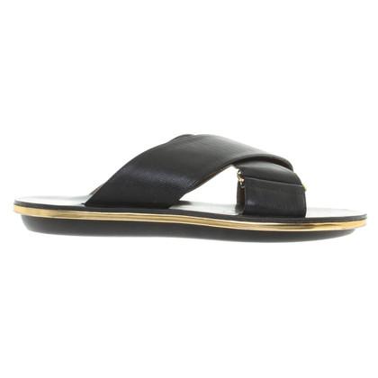 Marni Pantofola in Black