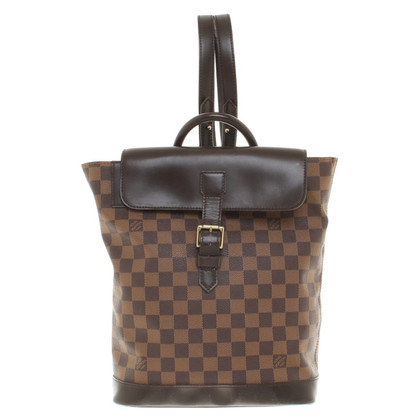 "Louis Vuitton ""Soho Zaino Damier Ebene Canvas"""