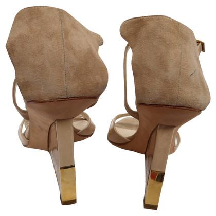 Christian Dior strappy sandals