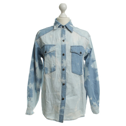 Isabel Marant Denim blouse with washing