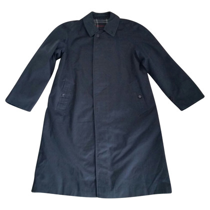 Burberry Blue cotton coat