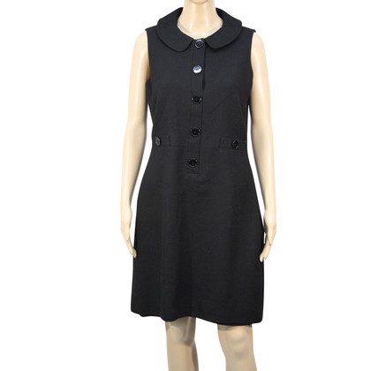 Hobbs Wool dress with collar