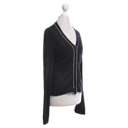 Sport Max Cardigan in bianco / nero