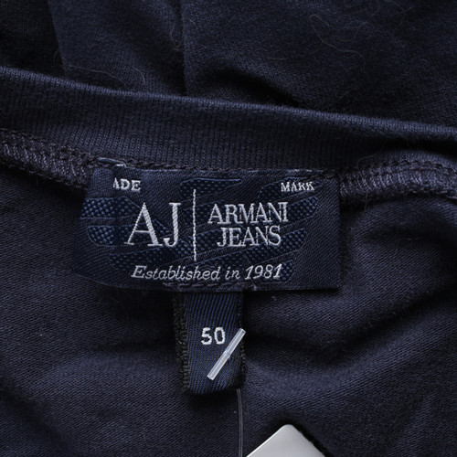 new style d5042 cd9b2 Armani Jeans Capispalla in Cotone in Blu - Second hand ...