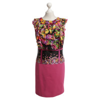 Roberto Cavalli Blazers & dress with floral pattern