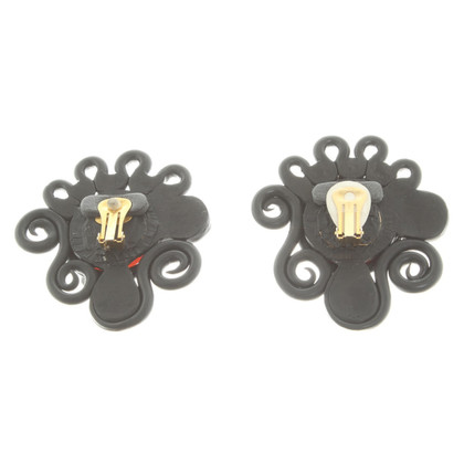Chanel Earclips with details