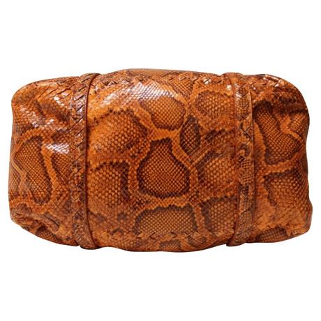 Großer Verkauf Günstiger Preis Bottega Veneta Handtasche aus Phytonleder Orange 100% Garantiert Y8RpkOFz