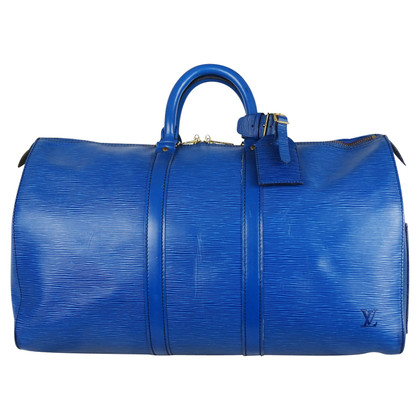 "Louis Vuitton ""Keepall 45 Epi"" in Blau"