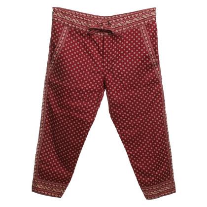 Isabel Marant Etoile Harem pants with patterns