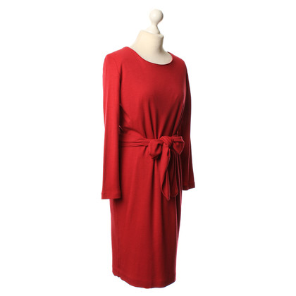 Rena Lange Long-sleeved dress in red