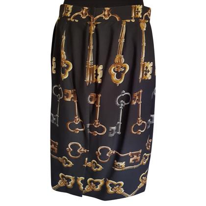 Dolce & Gabbana Rok met sleutel patroon