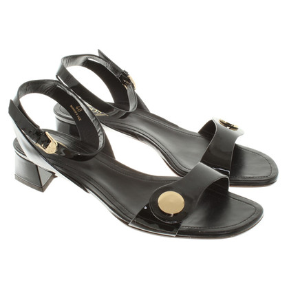 Tod's Sandals Patent Leather