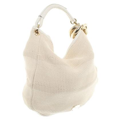 Jimmy Choo Handtasche aus Rafia-Bast