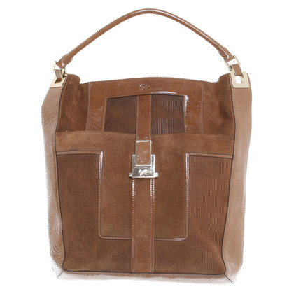 Anya Hindmarch Tote Bag lederen mix