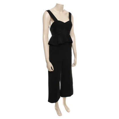 Self-Portrait Eleganter Jumpsuit in Schwarz