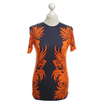 Matthew Williamson Top in oranje / blauw