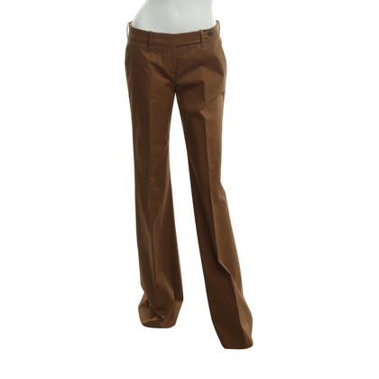 Prada Pantaloni in ocra