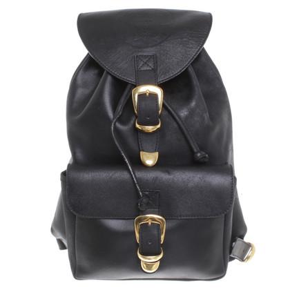 Versace Backpack in black