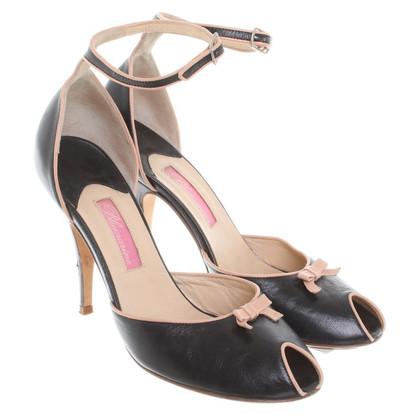 Blumarine Peep-dita dei piedi in nero