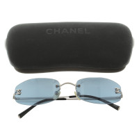 Chanel Zonnebril in Blue