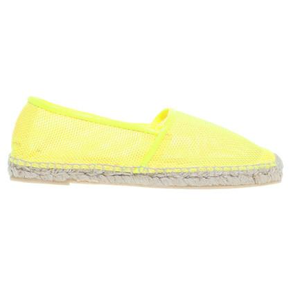 Stella McCartney Espandrilles neon yellow