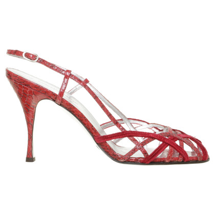 Dolce & Gabbana Sandals made of reptile leather