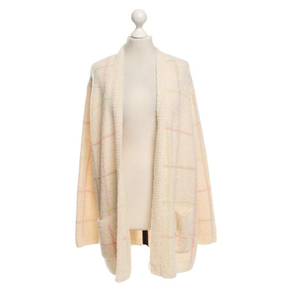 Marc Cain Cardigan with plaid pattern