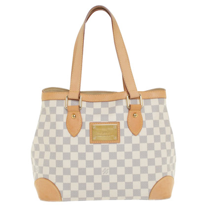 "Louis Vuitton ""Hampstead PM Damier Azur Canvas"""