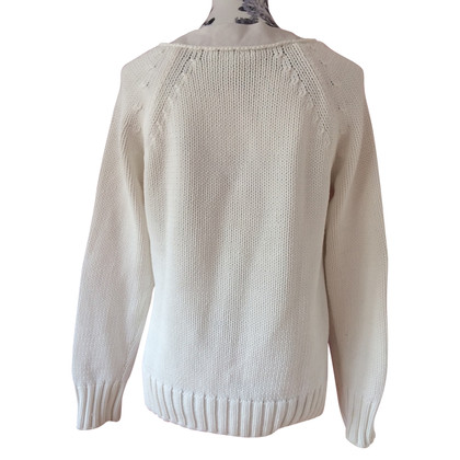 Sport Max maglione maglia bianca