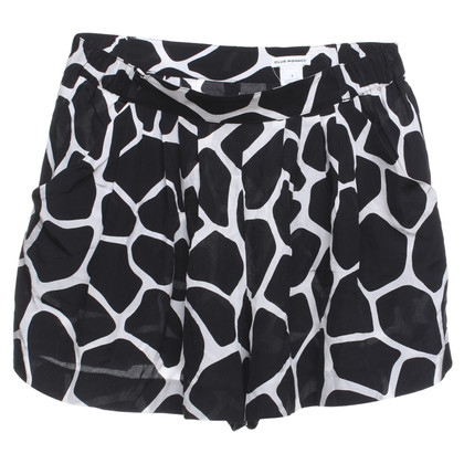 Other Designer Club Monaco - Shorts in black and white