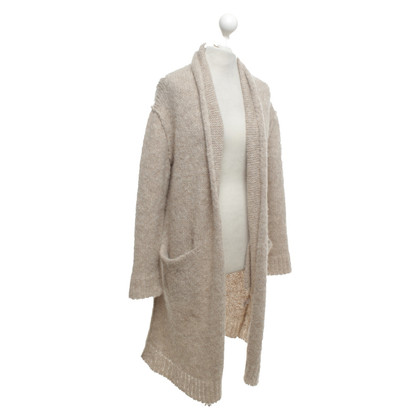 Current Elliott Knitted coat in beige