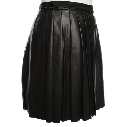 Phillip Lim Folding skirt made of leather