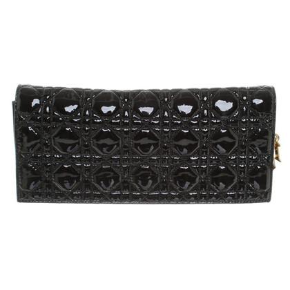 Christian Dior clutch in zwart