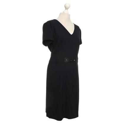 Giorgio Armani Elegant dress in navy blue