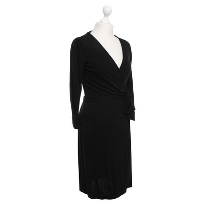 Diane von Furstenberg Vestito a portafoglio nero