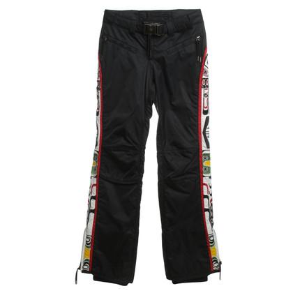 Jet Set Pantalons de ski avec motif
